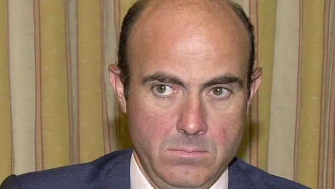 Luis de Guindos, nuevo ministro de Economía.