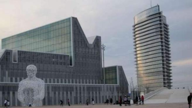 Imagen de archivo del recinto de la Expo Zaragoza de 2008. Duró tres meses y costó 2.250 millones de euros. Dejó unas pérdidas de 502 millones de euros.