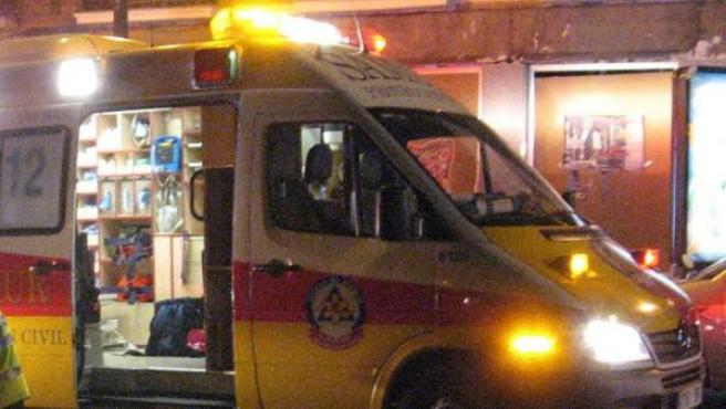 Una ambulancia en una imagen de archivo.
