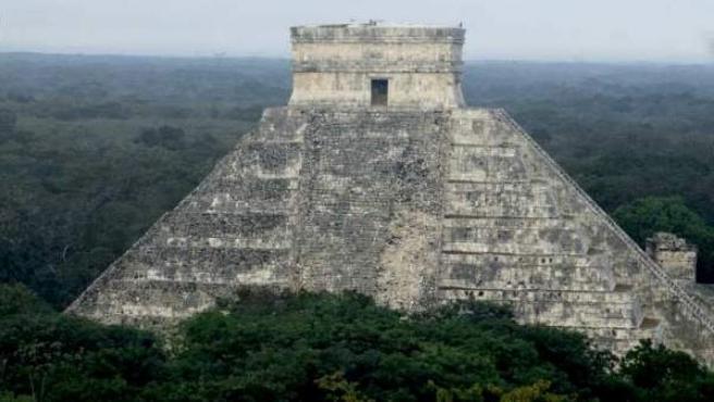Pirámide de Chichen Itzá, en el Estado de Yucatán.