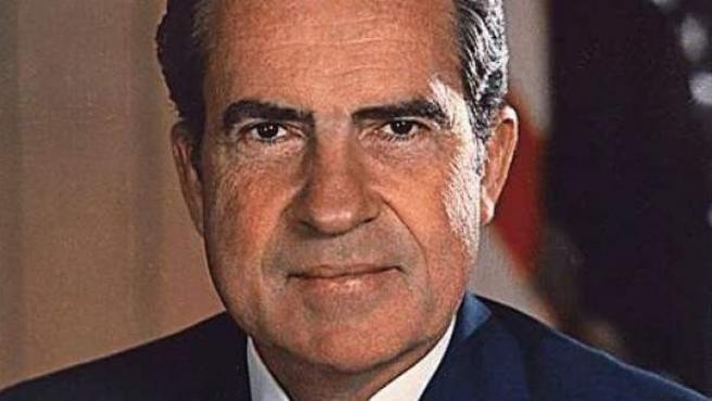 El expresidente de Estados Unidos Richard Nixon.