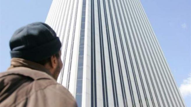 Imagen de archivo de la Torre Picasso, en Madrid.