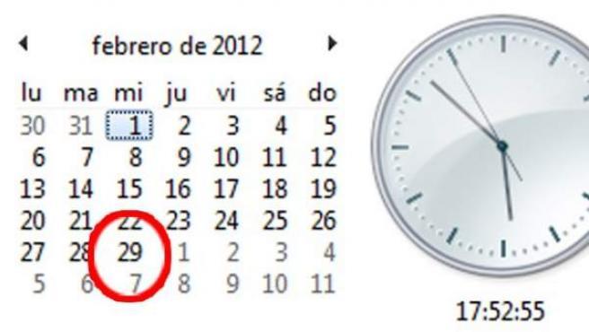 2012 será un año bisiesto.