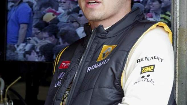 El piloto de Lotus Renault, Robert Kubica.