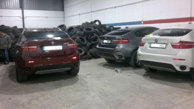 Vehículos Intervenidos Por La Guardia Civil