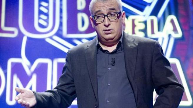 El cómico Leo Harlem, en un monólogo de 'El club de la Comedia', en La Sexta.