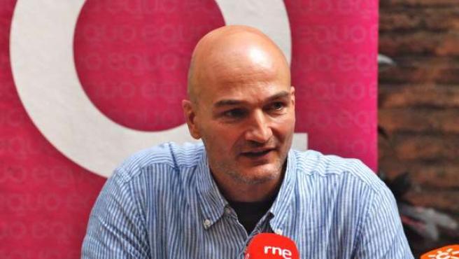 Esteban De Manuel, Candidato De Equo A La Presidencia De La Junta
