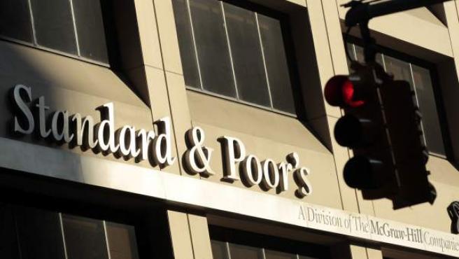 Fachada de la sede de Standard and Poor's en Nueva York.