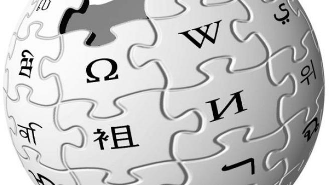 Logotipo de la Wikipedia.