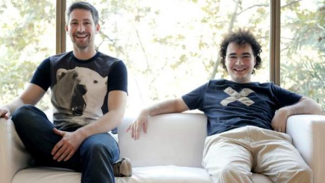 David Martínez y Jordi Tamargo, fundadores de Burn Media S.L.