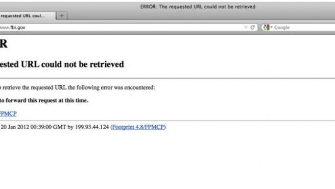 Imagen de la Web del FBI enviada por el usuario @Zireck
