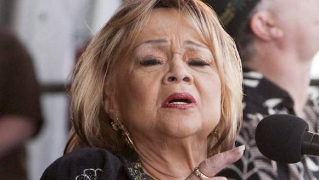 La cantante Etta James, en una imagen de archivo.