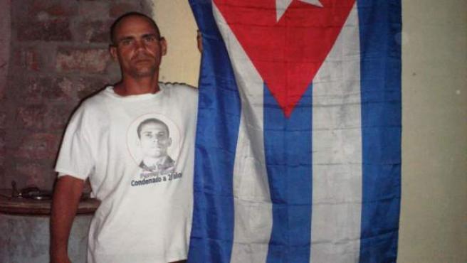 Fotografía cedida vía la Unión Patriótica de Cuba (UNPACU), que muestra al disidente Wilman Villar, fallecido este jueves en un hospital de Santiago de Cuba.
