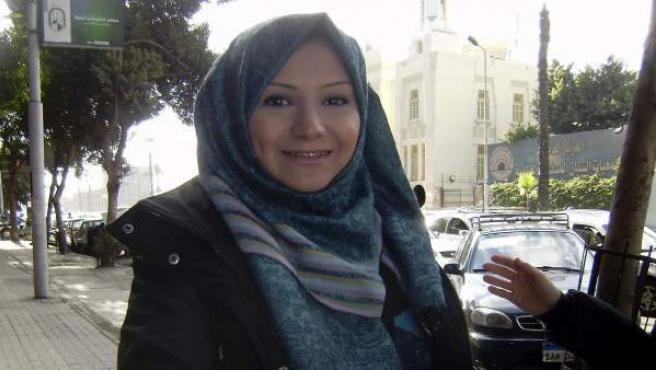 La bloguera Asmaa Carmen Claraen, uno de los rostros de la primavera árabe.