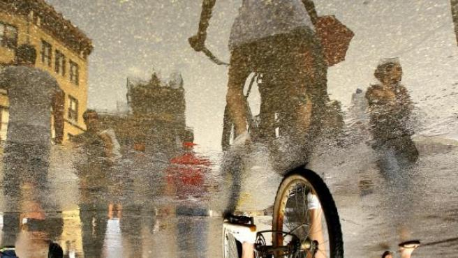 Una de las fotos de la serie 'Reflejos', de Ira Fox