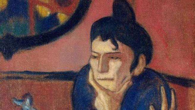 'La Bebedora de absenta' de Pablo Picasso, una de las obras que actualmente se puede ver en El Prado dentro de la colección de tesoros rusos del Hermitage.