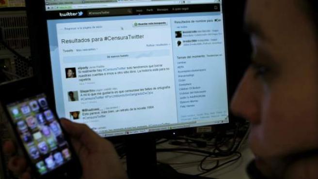 El hashtag #CensuraTwitter se ha convertido en el término más comentado del día en la red de microblogging.