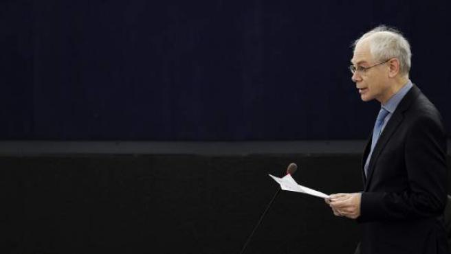 El presidente del Consejo Europeo, Herman Van Rompuy.