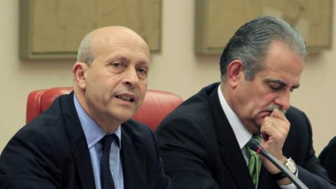 El ministro de Educación, Jose Ignacio Wert.