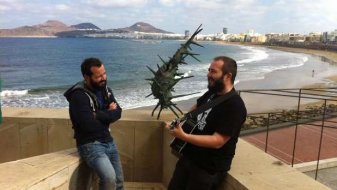Ángel Martín Y Ricardo Castella En Las Palmas De Gran Canaria