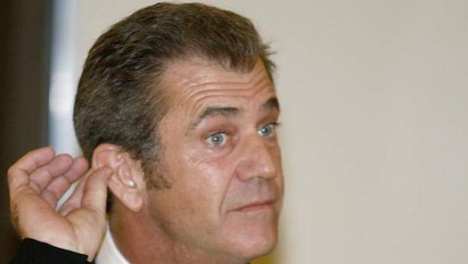 El actor Mel Gibson, en una imagen de archivo.