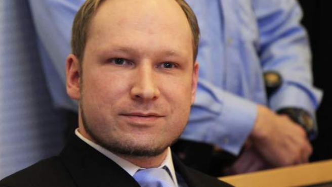 El ultraderechista noruego Anders Behring Breivik.