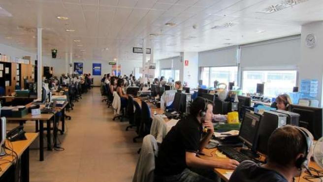 Oficina De Trabajadores.