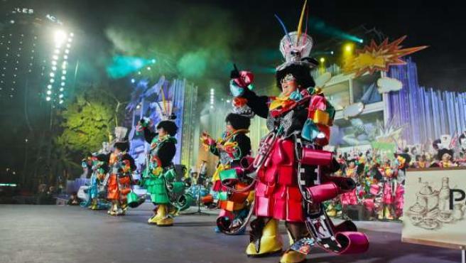 Murgas Las Despistadas En Carnaval De Las Palmas De Gran Canaria