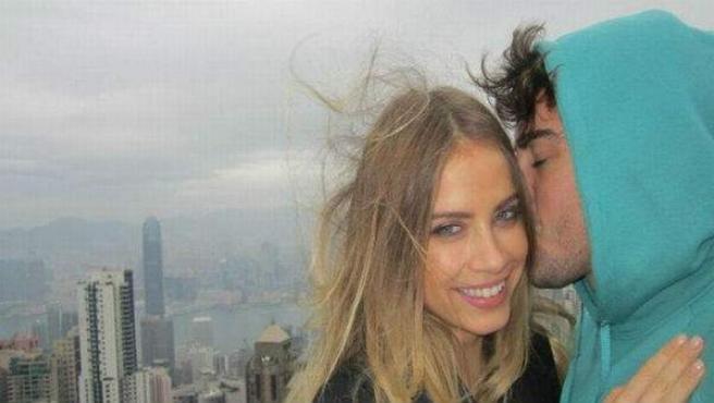 Fernando Alonso y Xenia Tchoumitcheva.