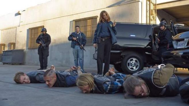 Una escena de la serie 'Hijos de la anarquía'.