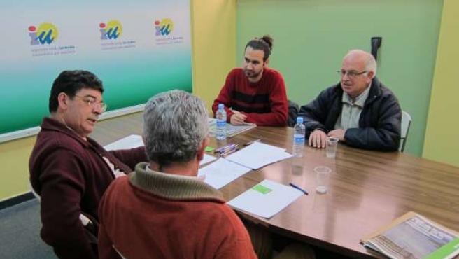 Reunión Entre Diego Valderas Y Representantes De Greenpeace En Andalucía