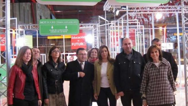 La Secretaria De Organización Del PSOE-A, Susana Díaz, En Palacio Ferias Málaga