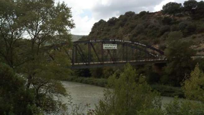 Puente Santa Eulalia, En Huesca, No A Biscarrués