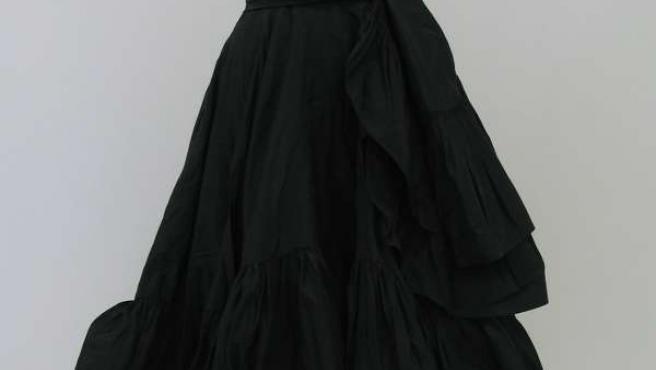 Vestido De Cristobal Balenciaga