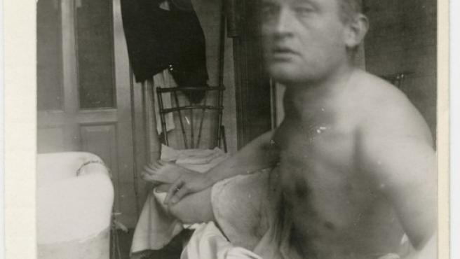 Un autorretrato de Munch 'a lo Marat', en 1909