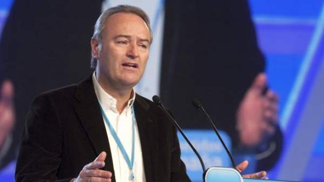 El presidente de la Comunidad Valenciana, Alberto Fabra.