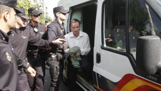 José Bretón, padre de los dos niños de 2 y 6 años desaparecidos el 8 de octubre en Córdoba.