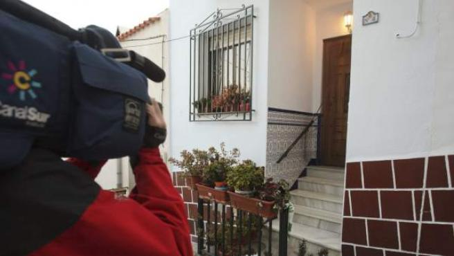 Vivienda del municipio almeriense de Abla donde ha sido hallada sin vida una mujer de 82 años.