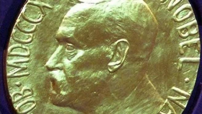 La medalla del Premio Nobel.