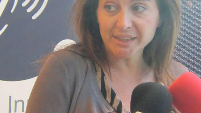 La Directora General De Análisis Y Planificación, Marta López.