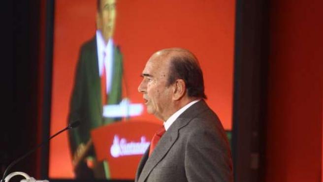 Emilio Botín, En Los Resultados 2011