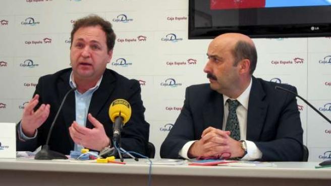 José Manuel Fdez. Corral (D) Y Juan José Rodríguez (I)