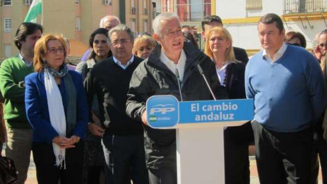 Javier Arenas, Hoy En Alcalá De Guadaíra