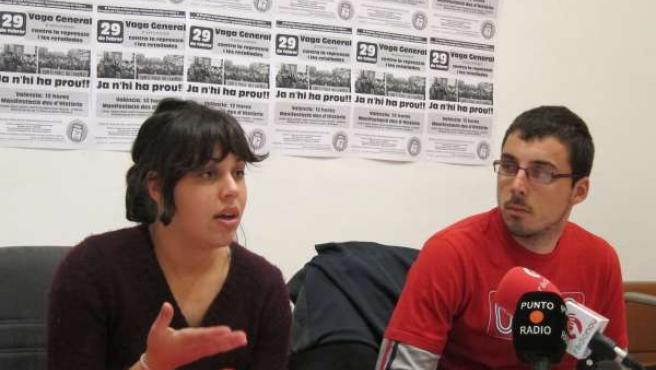 Representantes Del Sindicato De Estudiantes