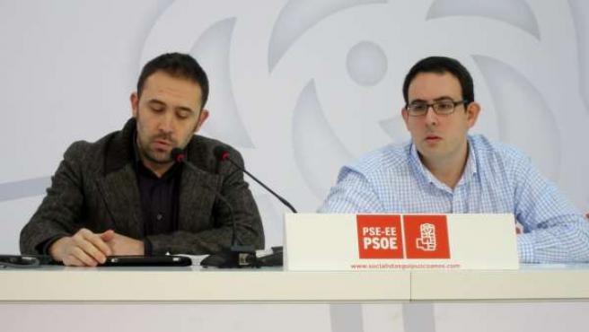 Denis Itxaso Y Mikel Durán (PSE)