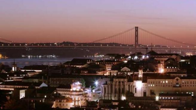 Una Imagen De La Ciudad De Lisboa