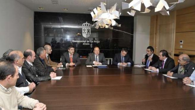 Sanz Con Alcaldes Comarca De Arnedo
