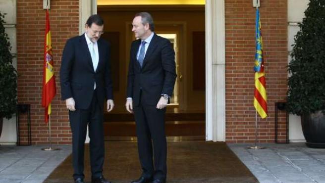 Rajoy Recibe A Alberto Fabra En Moncloa