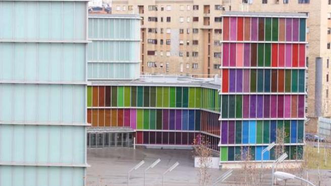 Fachada Del MUSAC, En León.