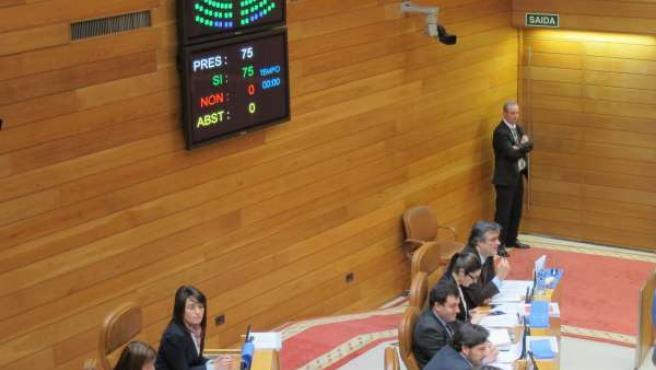 Foto Unanimidad En El Parlamento De Galicia